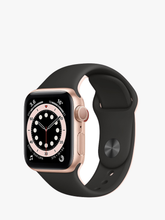 Load image into Gallery viewer, Smart Watch: Rosegold with Black Bracelet
