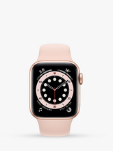 Load image into Gallery viewer, Smart Watch: Rosegold with Pink Bracelet