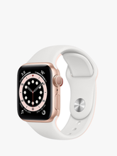 Load image into Gallery viewer, Smart Watch: Rosegold with White Bracelet