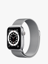 Load image into Gallery viewer, Smart Watch: Silver/Silver Milanese