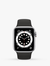 Load image into Gallery viewer, Smart Watch: Silver with Black Bracelet