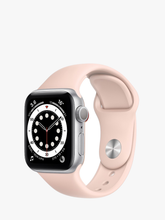 Load image into Gallery viewer, Smart Watch: Silver with Pink Bracelet