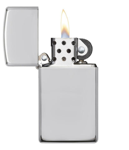 1500, Sterling Silver Slim Lighter