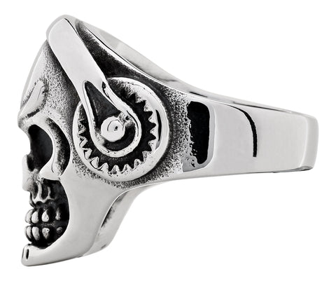 Headphone Skull Ring