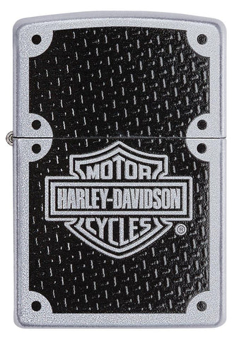 Front view of Harley-Davidson® lighter closed