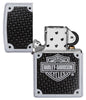 Front view of Harley-Davidson® lighter open