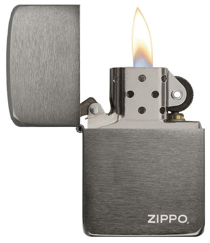 24096,  Black Ice 1941 Replica with Zippo logo