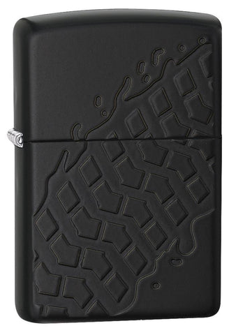 28966 Tire Tread Black Matter Armor Windproof Lighter