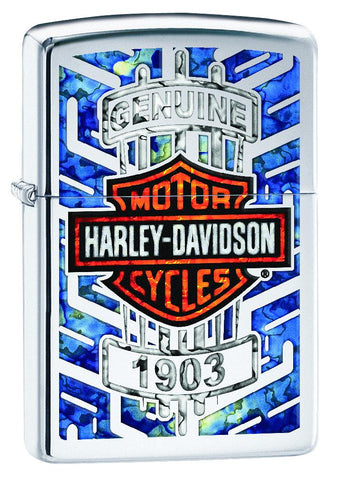 29159, Harley-Davidson Fusion, High Polish Chrome, Classic Case