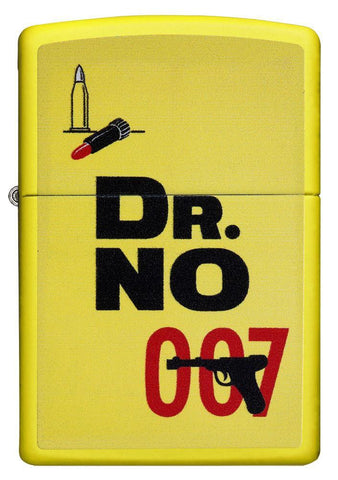 29565, James Bond Original Dr. No, Color Image, Lemon Yellow Finish, Classic Case