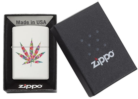 29730 - Floral Weed Design Lighter - Packaging