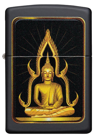 Black Matte Buddha Lighter