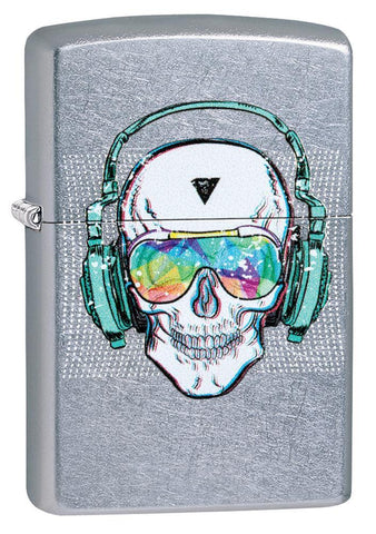Skull Headphone Design Lighter