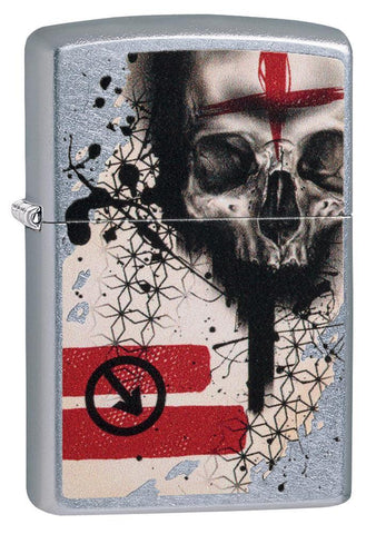 Trash Polka Tattoo Skull Lighter