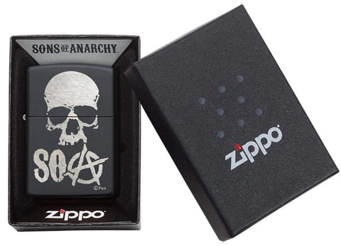 Sons of Anarchy Windproof Zippo Lighter