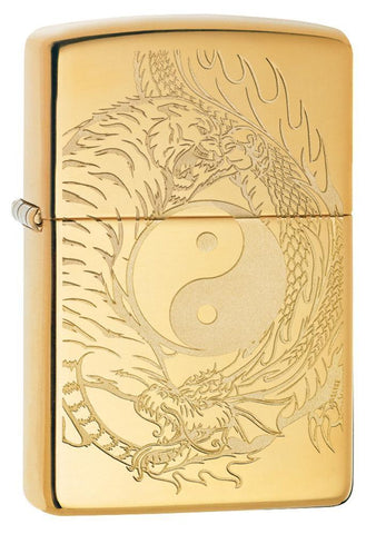 49024 Yin and Yang Zippo Lighter