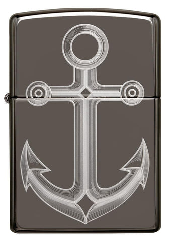 Front view of Black Ice® Anchor Windproof Lighter