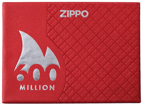 600 Millionth Zippo Lighter Collectible luxury packaging