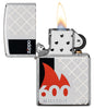 600 Millionth Zippo Lighter Collectible with its lid open and lit
