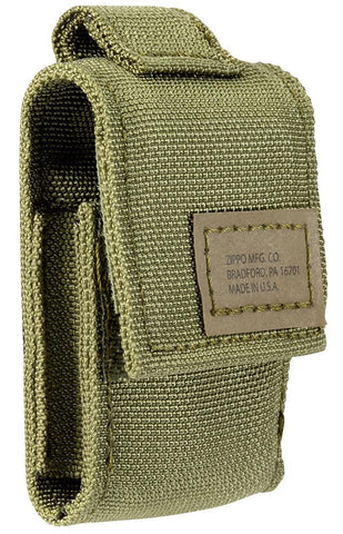 Tactical Pouch and Black Crackle™ Windproof Lighter Gift Set