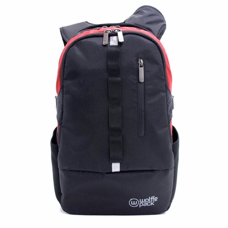 502044a8ad17b Wolffepack Escape, Award-Winning Backpack, 18L Black and Red
