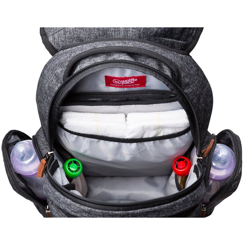 Wolffepack Luna, Baby Changing Backpack, 20L