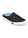 FAUSTO Men's Navy Blue Casual Synthetic Slip-On Shoes