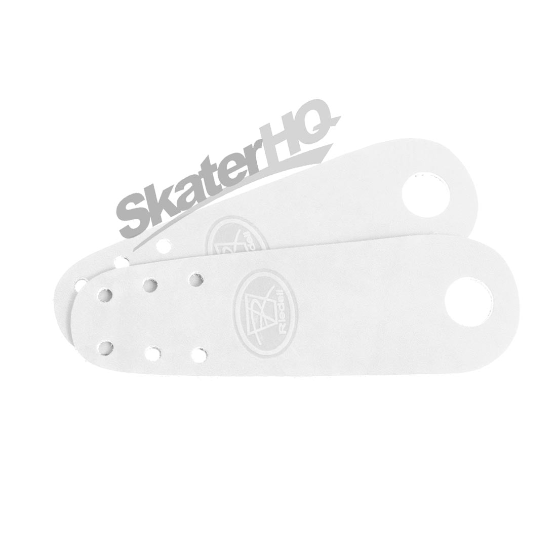 Riedell Leather Toe Guard 2pk - White