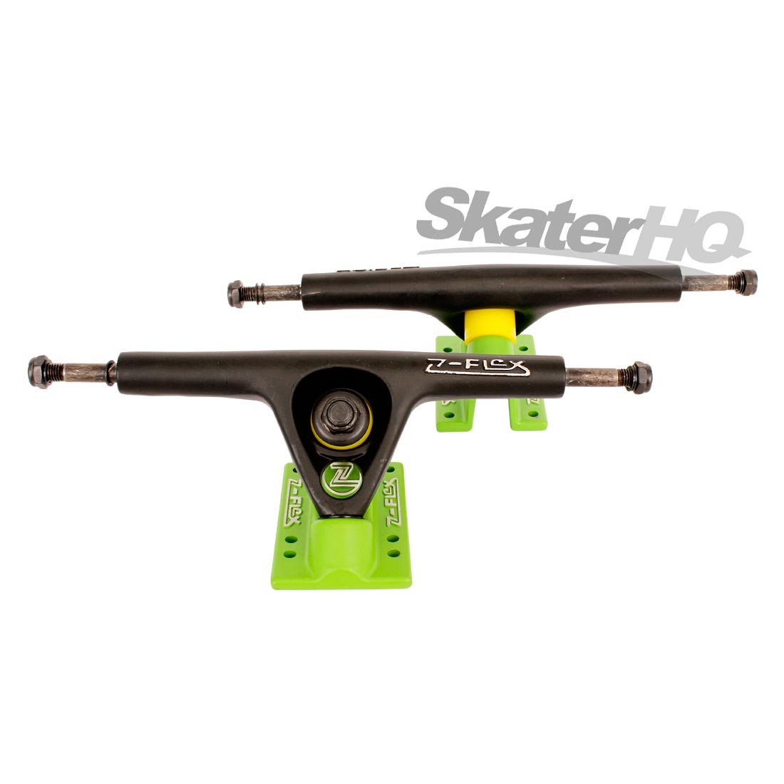 Z-Flex Longboard Truck Black/Green