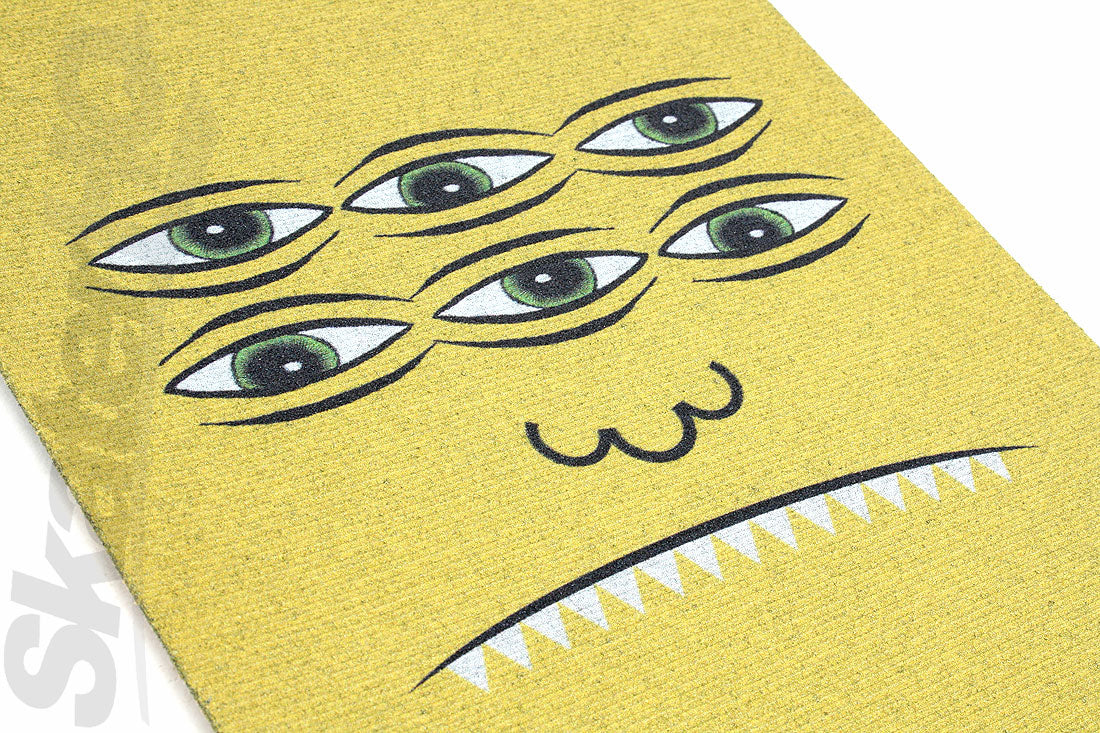 MOB Toy Machine Trans Face Griptape - Yellow