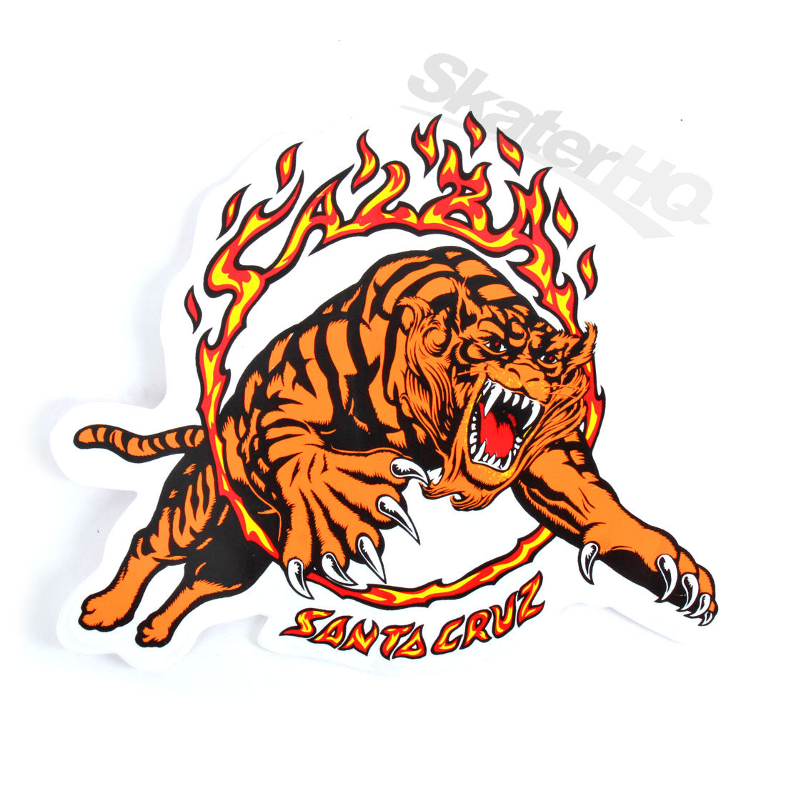 Santa Cruz Salba Tiger Sticker