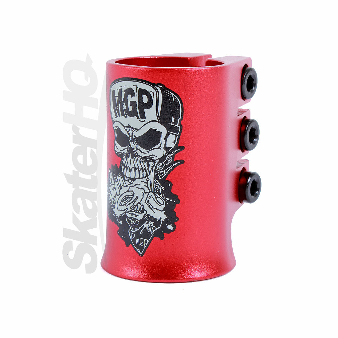 MGP Madd Hatter HIC Oversized Triple Clamp - Red