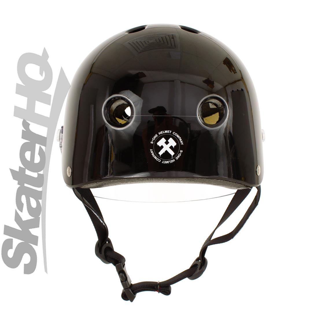 S-One Visor Lifer Black Gloss Helmet
