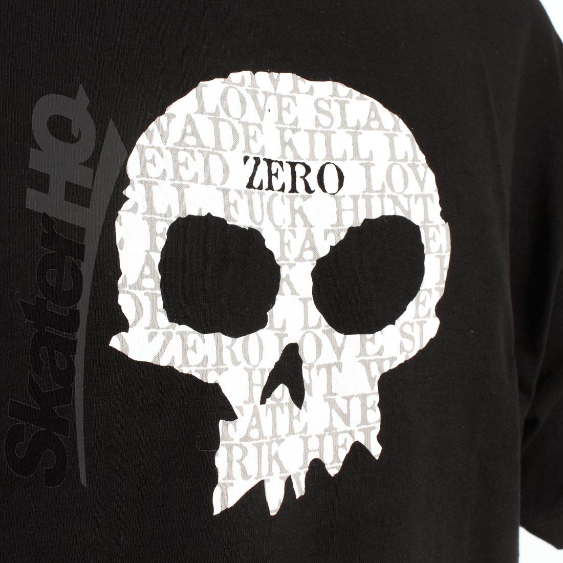 Zero OG Single Skull Tee Large SHOP DAMAGED