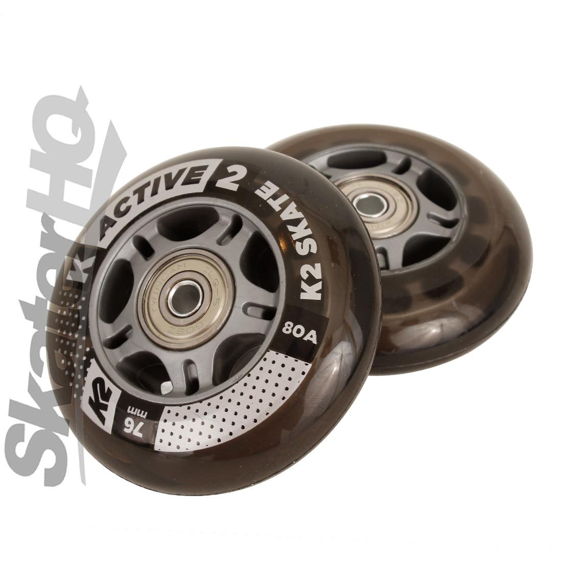 K2 Active 76mm/80A 8pk w/ ILQ5 Bearings