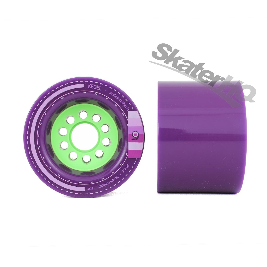 Orangatang Kegel 80mm/83A 4pk - Purple