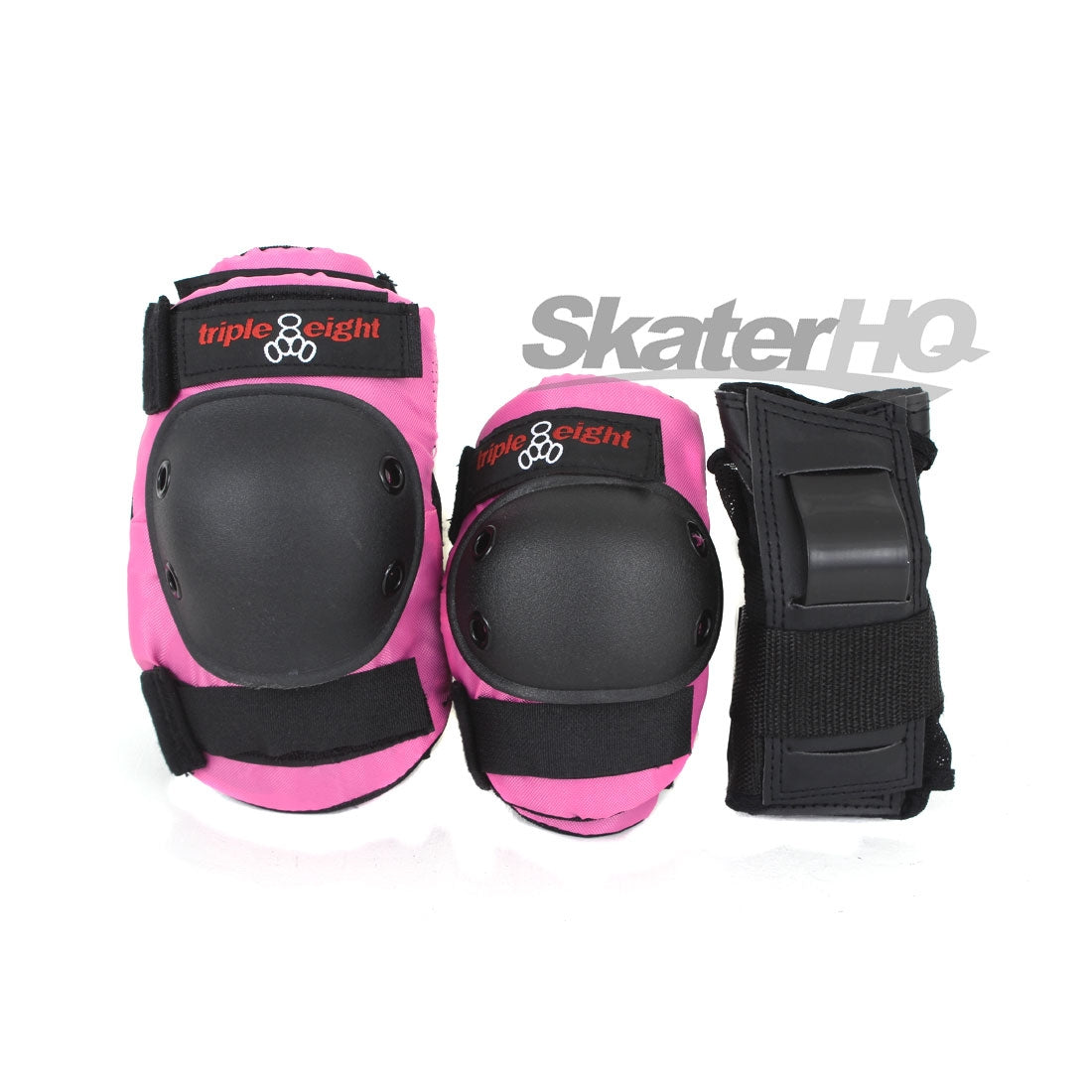 Triple 8 Combo Sleeved Tri-Pack - Pink - Junior