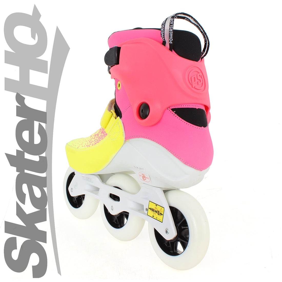 Powerslide Swell 100mm Flare 7USL/6US/EU39 - Pink/Yellow
