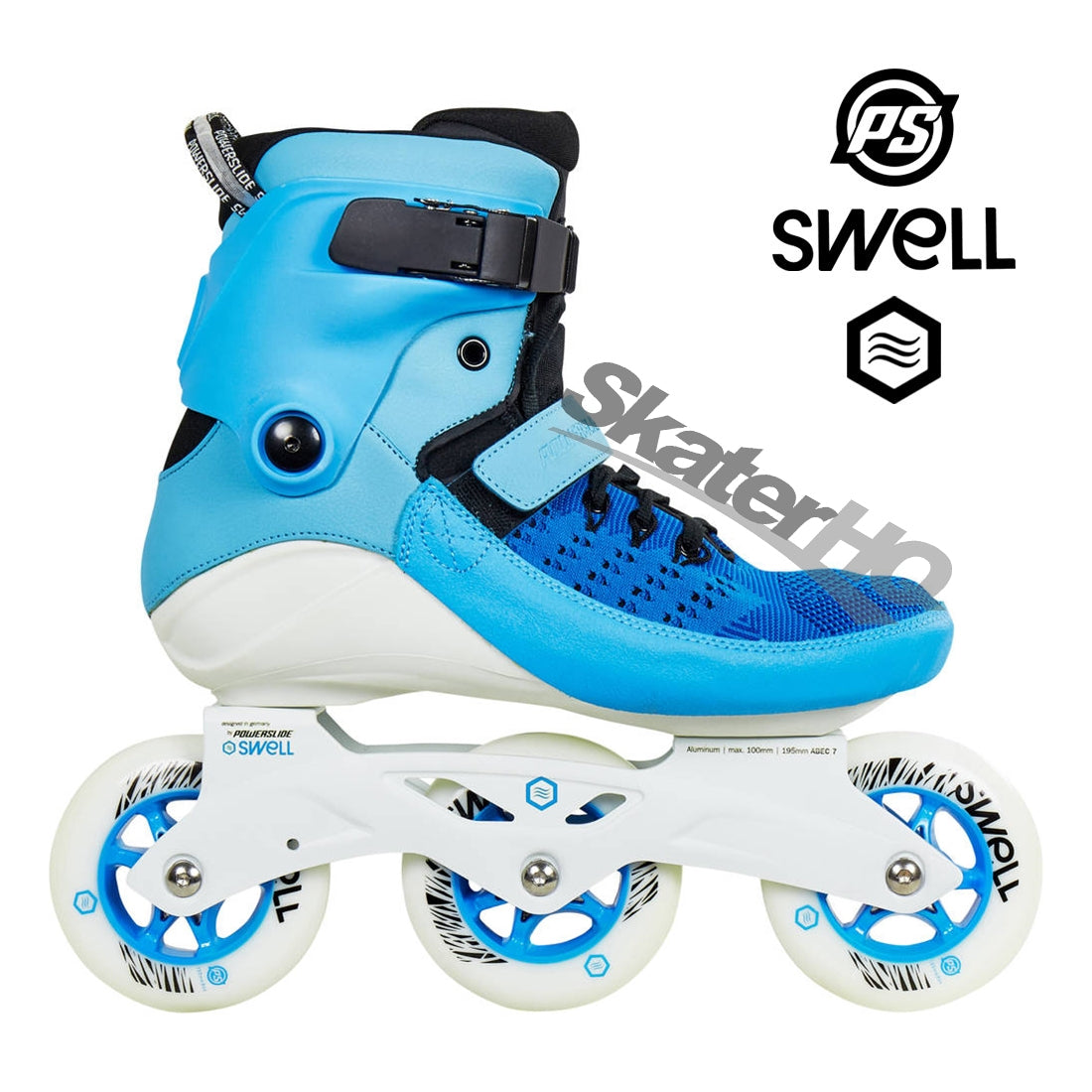 Powerslide Swell 100mm Blue 6USL/5US/EU38