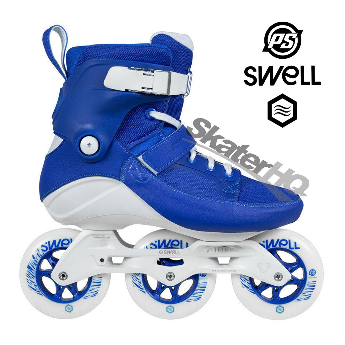 Powerslide Swell 100mm Royal 7USL/6US/EU39 - Royal Blue