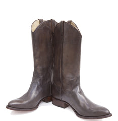 Plain Brown Cowboy Boots