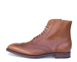 Tan lace up Brogue