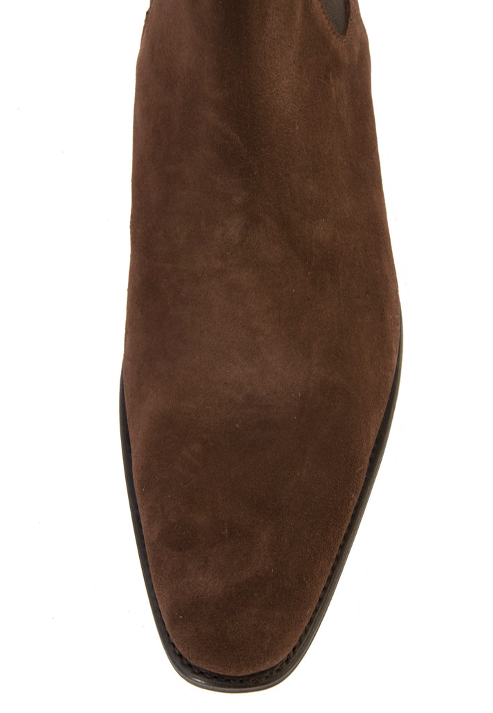Marcos chocolate suede