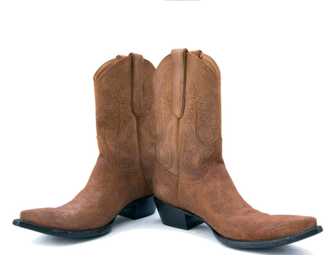 Suede Cowgirl Boots