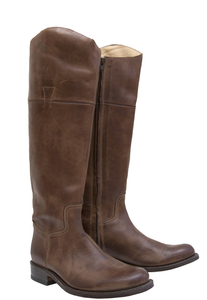 6629 Brown Riding Boot