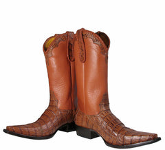 Caiman Tobacco Boots