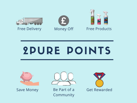 2Pure Products Loyalty Scheme: 2Pure Points