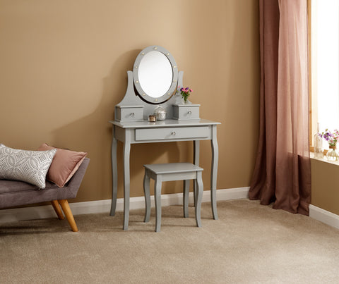 Grace Dressing Table Set with LEDs