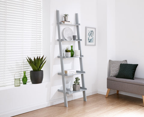 Ladder Style 5 Tier Wall Rack