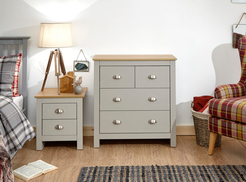 Lancaster 2 & 2 Chest of Drawers